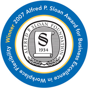 Alfred P. Sloan Award for Business Excellence in Workplace Flexibility