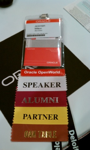 OOW2010 Badge